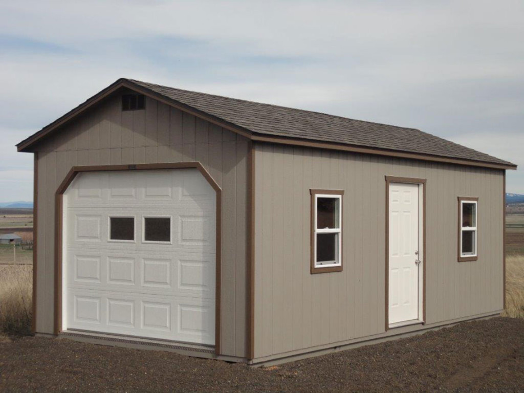 Pre-Built & Pre-Assembled Garage