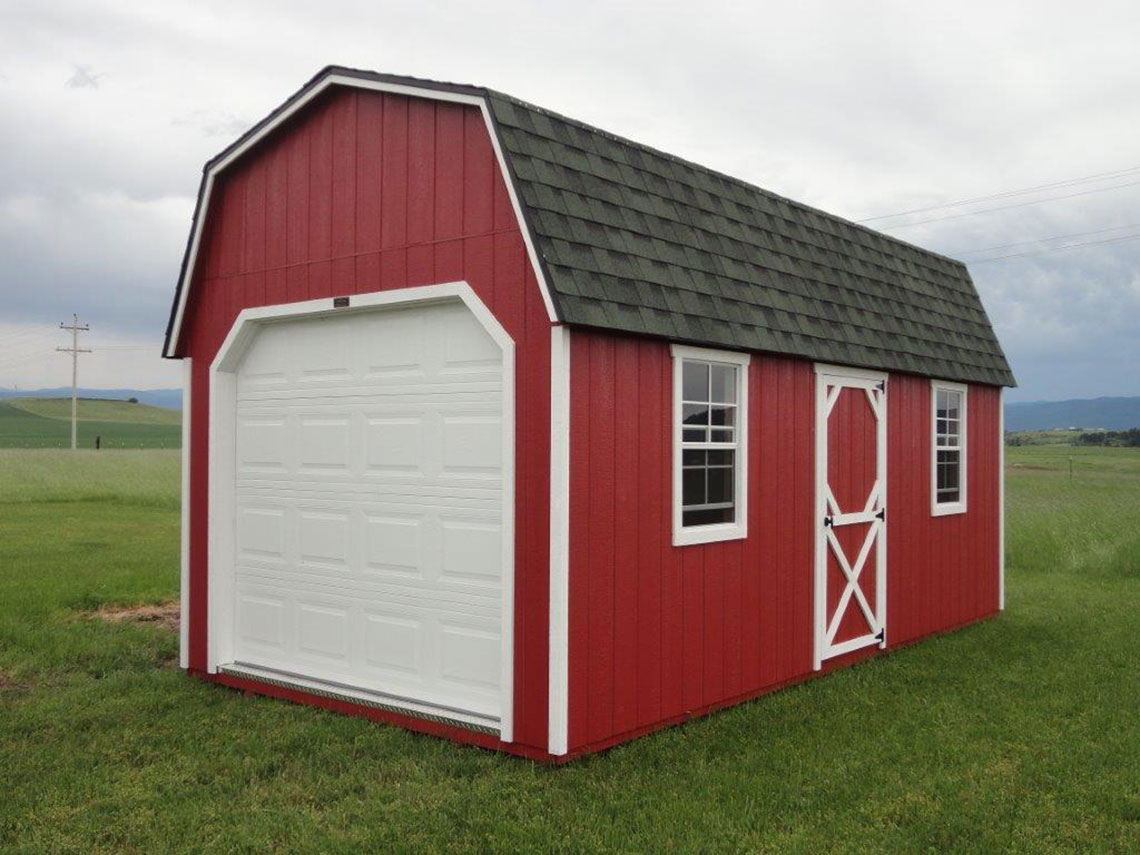 High Barn Garage by Clearwater Barns