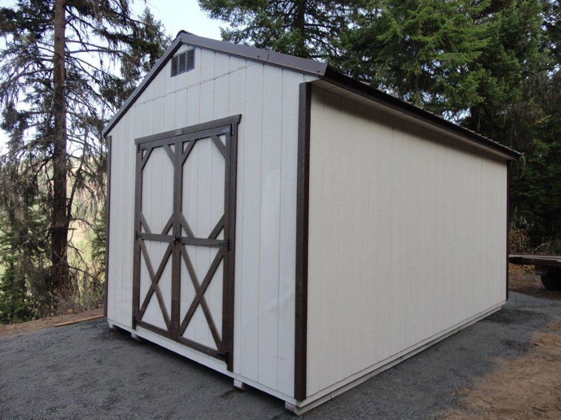 Utility Sheds Made in Idaho